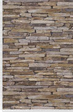 Trompe lœil pierres plates naturelles - WoodN Stone