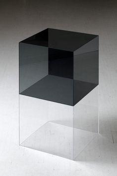 Glass Cube - Ebbe Stub Wittrup #art