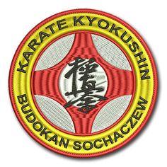 Naszywka Klub Sportowy Karate Kyokushin Budokan Sochaczew