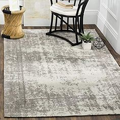 Safavieh Classic Vintage Boho Earline Distressed Oriental Cotton Rug x - Silver/Ivory) Turkish Design, Classic Rugs, Family Room Decorating, Traditional Rugs, Eclectic Decor, Online Home Decor Stores, Runes, Vintage Rugs, Vintage Cotton