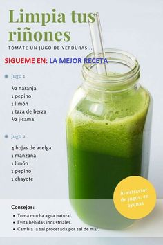 Detox Drinks to Improve Your Health and Start Feeling Great Healthy Juices, Healthy Smoothies, Healthy Drinks, Smoothie Recipes, Healthy Recipes, Healthy Water, Detox Recipes, Healthy Detox, Green Smoothies