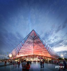 pictury / USA Soccer National Stadium on Behance