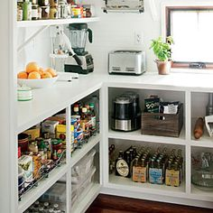 Never thought of using pantry for food prep. Best Kitchen Design | Multipurpose Pantry | SouthernLiving.com