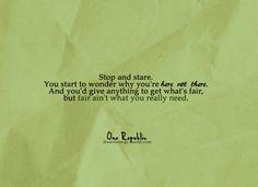 Stop & Stare - OneRepublic