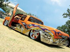 Custom Airbrushed Trucks | Scrapin The Coast Custom Painted Truck Photo 22