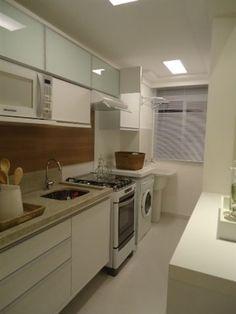 Cozinha empreendimento Up Life Pinheirinho / Up Life Pinheirinho Kitchen