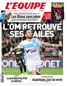 L'Équipe - Samedi 11 Mars 2017 - N° 22878