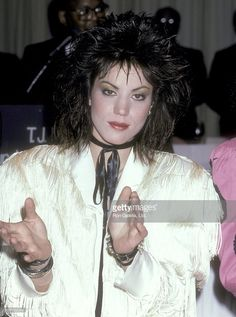 Musician Joan Jett attends the T.J. Martell Foundation Honors Quincy Jones on April 19, 1986 at New York Hilton Hotel in New York City.