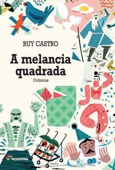 A Melancia Quadrada - Book cover on Behance