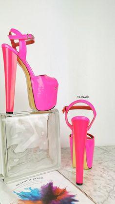 Hot High Heels, Low Heels, High Platform Shoes, Matte Pink, Walk This Way, Steel Material, Color Rosa, Photo Colour, Beige Color