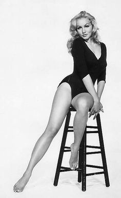 Julie Newmar - how women should look, not these skinny wafers in today's fashions.