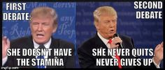 Trump: the only things he doesn't flip on are his racism, xenophobia, and sexism.