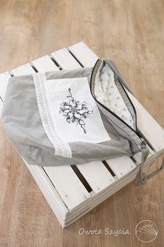 #owoceszycia Torebka | bag handmade - ręcznie malowana