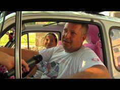Fiat 500 alla conquista del Friuli. Le interviste a bordo: Hello Kitty! - YouTube