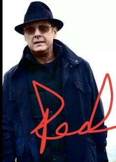 "Raymond Reddington  Played by: James Spader  ""The Blacklist"""