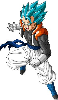 Super Saiyan Blue Gogeta (Dragonball Super) by RayzorBlade189 on DeviantArt