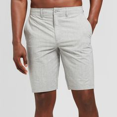 Men's Defender Hybrid Shorts - Goodfellow & Co Gray 38