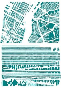 Deconstructed city maps. Fascinating. via the interesting shannoneileenblog.typepad.com #shannoneileenblog #municipal_planning #informatics