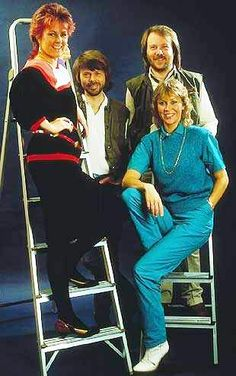 On March 30th 1979 ABBA were in the photo studio