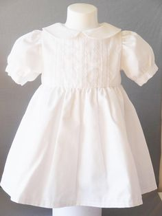 white baptism, wedding, ceremony dress The choice of baptism dresses for … Baptism Dress, Christening Gowns, Ceremony Dresses, Heirloom Sewing, Smock Dress, Baby Girl Fashion, Wedding Gowns, Wedding Ceremony, Beautiful People