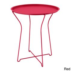 Atlantic Powder-coated Metal Side Table - Overstock™ Shopping - Great Deals on Atlantic Coffee, Sofa & End Tables