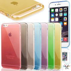 """0.3mm Ultra Thin Semi Transparent Clear Soft Gel Case for iPhone 6 4.7""""  #48 #UnbrandedGeneric"""