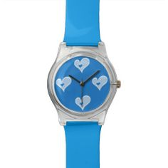 Blue Hearts May28th Valentine Watch