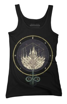 Fading Dahlia Womens Tank Top