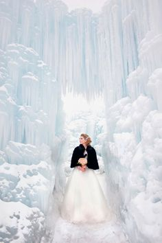 The Perfect Dress: Frozen Photoshoot