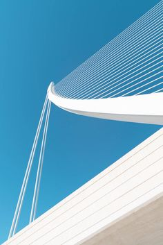 Bewitching White and Sky Blue Architecture Photography – Fubiz Media