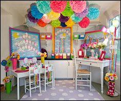Kleinspiration: Beautiful Classroom Design Themes from Schoolgirl ...