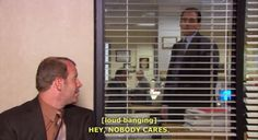 The Office. Poor Toby