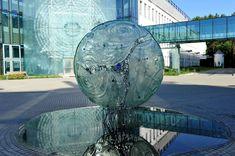 The Big Bang at Bialystok University Campus, Bialystok, Poland by Archiglass, Tomasz Urbanowicz