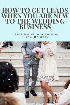 How to get leads when you are new to the Wedding Business- via @imawriter via @blackbrideweds #wedbizhour #weddingplanner www.culturewedding.ca