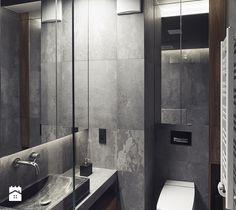 Łazienka w surowym stylu - zdjęcie od SPOIWO studio