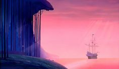 Animation Backgrounds: POCAHONTAS