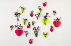 """Lovestar """"Queen of Hearts"""" Vases"""