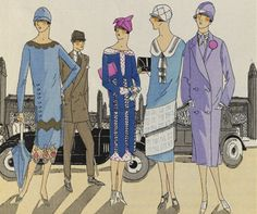 La mode des Années Folles (1919 - 1929)