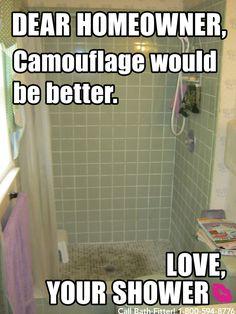 Bathroom Remodel Meme sad bathroom needs some love. #meme #diy | if your tub could talk