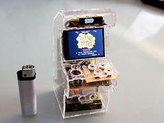 Raspberry Pi Tiny Arcade Machine