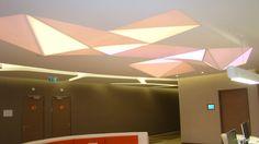 gergi tavan aydınlatma çalışmalarımız stretch ceiling work www.afmgrup.com.tr