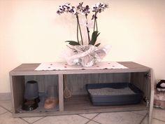 Come nascondere la lettiera del gatto 2 - Ikea :-)