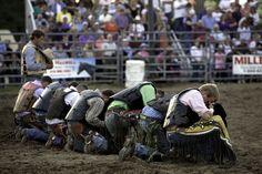 cowboy praying never ashamed!!!