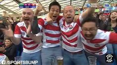 South Africa vs Japan - 2015 Rugby World Cup Highlights