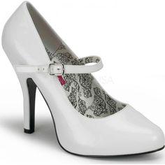 Bordello Shoes - Tempt-35 White - Buy Online Australia Beserk