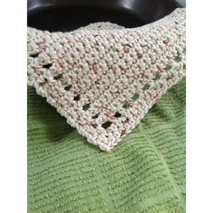 Knitted Dishcloth Patterns Free, Knitted Washcloths, Knit Dishcloth, Crochet Patterns, Crochet Dish Towels, Crochet Kitchen, Crochet Home, Knit Crochet, Crochet Things