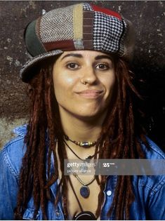 Non Blondes, Punk Fashion, Archive, Bands, Dreadlocks, The Incredibles, Hair Styles, Gold, Beauty