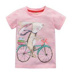 Onetoo 2 10 лет девочка футболки большие девочки тис рубашки дети блузка большие продажи супер 100% хлопка детей летней одежды купить на AliExpress