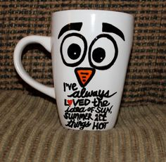 Frozen Olaf Quote Coffee Mug by KustomByKelsie on Etsy, $15.00