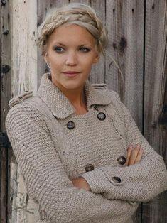 Ford from Kim Hargreaves Cherished Rowan Felted Tweed Aran Crochet Quilt, Knit Crochet, Knitting Designs, Knitting Patterns, Rowan Felted Tweed, Rowan Yarn, Knitted Coat, Jacket Pattern, Knit Jacket